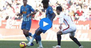 Sevilla Atletico Madrid Özet