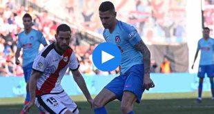 Rayo Vallecano Atletico Madrid Özet