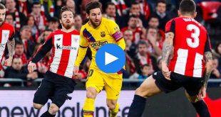 Athletic Bilbao Barcelona Özet
