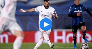Real Madrid Atalanta Özet
