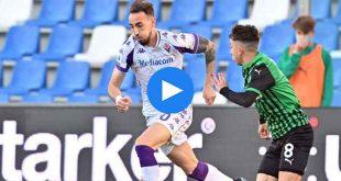 Sassuolo Fiorentina Özet