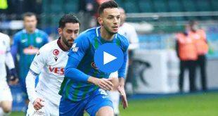 Rizespor Trabzonspor Özet