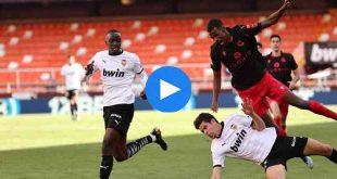 Valencia Real Sociedad Özet